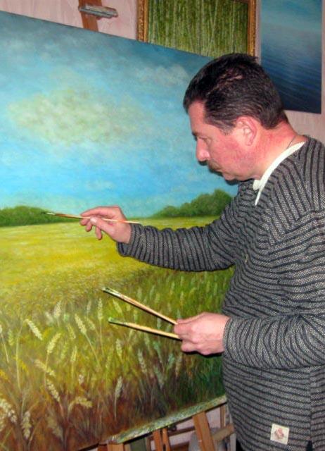 О художнике Станиславе Сахневиче