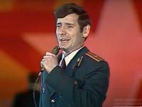 Хор СВВПСУ на фестивале солдатской песни в Одессе. 1986г.